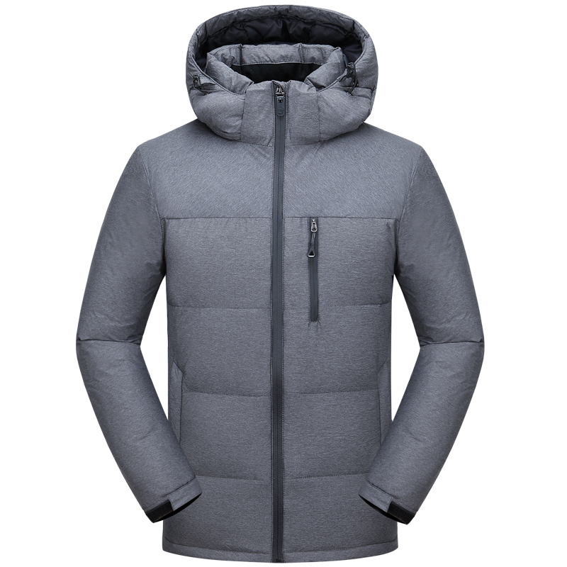 2018 Winter Men's   Down     Coat   New Leisure Youth Men's Thick Slim   Down   Jackets Warm Male Basic Outwear   Down   Parkas Overcoat JK-288