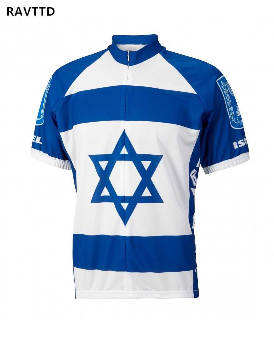 2018 Израиль Велоспорт Джерси Mtb велосипедная одежда велокостюм из флиса короткий велосипед велосипедная одежда велосипедная Джерси