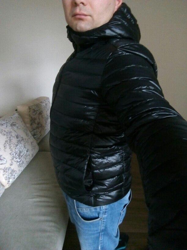 Новинка 2017 года Повседневное бренд белая утка Пух куртка Для мужчин осень-зима теплое пальто Для Мужчин's Сверхлегкий утка Пух куртка мужской ветрозащитный парка