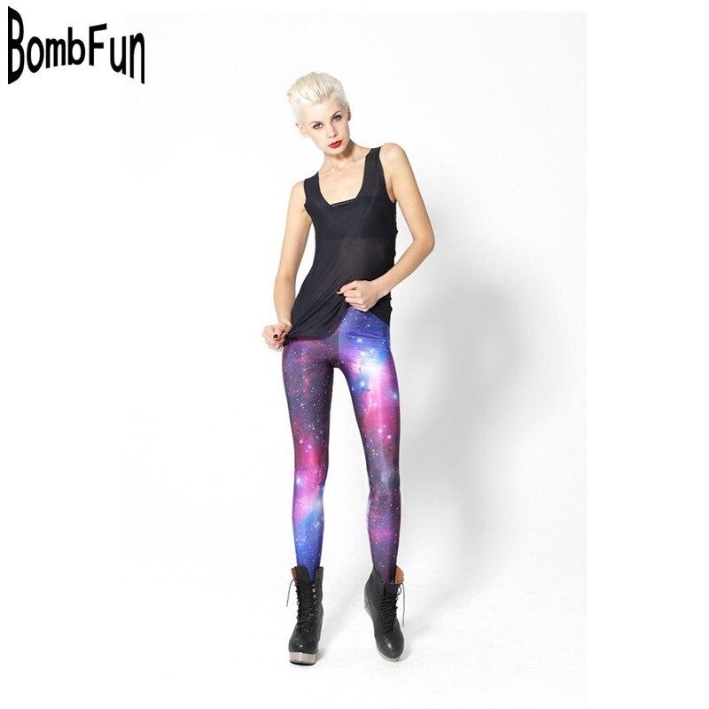 179734fd34d1 New Women Space Legging Galaxy Star Trousers Digital Print Pants 3D Leggings  Jegging Workout Leggings for