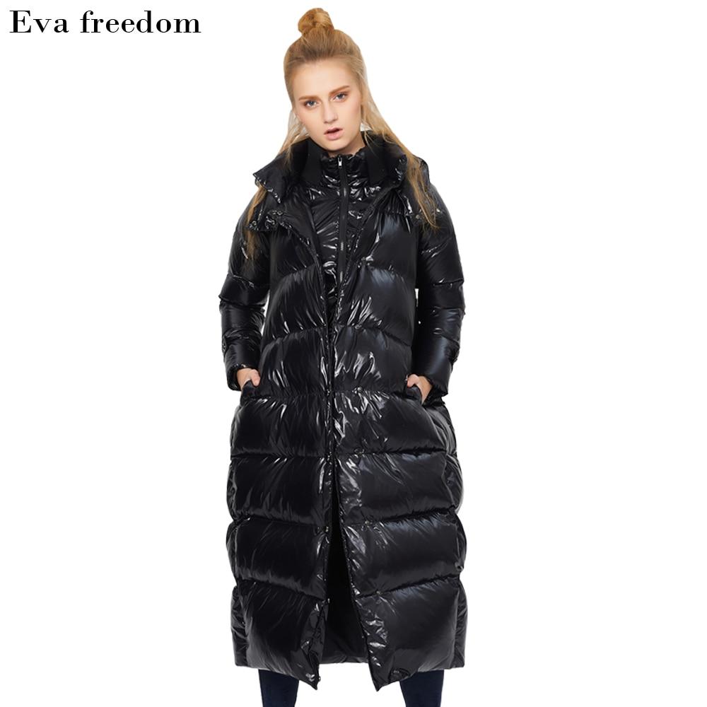 Liberté La Et Veste Russe Pour Épais Veste De Vêtements Grande Taille L'hiver Femmes Qualité Canard Long Duvet Eva Chaude Blanc Noir OqZ8d5O