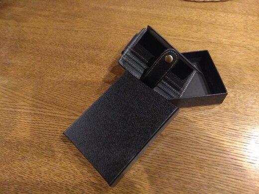 Lederen magnetische geld clip portemonnee Vintage portemonnee contant geld kaart photo review