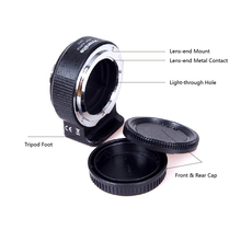 Commlite CM-ENF-E1 PRO Auto AF Lens Adapter For Nikon F Len To Sony E Mount A7II