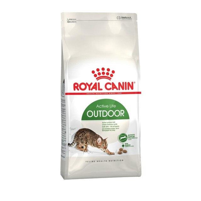Royal Canin Outdoor корм для активных кошек часто бывающих на улице, 2 кг