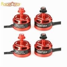 Hot Sale 4 Pcs Racerstar Racing Edition 2205 BR2205 2600KV 2-4S CW/CCW Brushless Motor For QAV250 ZMR250 260 280 Multirotors