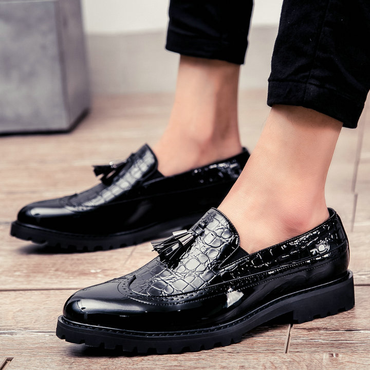 UTB8L1lqy3QydeJk43PUq6AyQpXaw Men Casual shoes breathable Leather Loafers Office Shoes For Men Driving Moccasins Comfortable Slip on Fashion Shoes MA-23