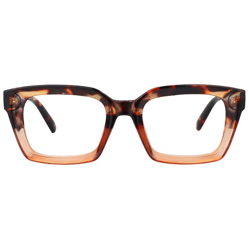 Zeelool Pop Color Readers Rectangular Reading Glasses Ena
