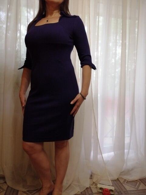 Autumn Professional Women Formal Sheath Bodycon Slim Elegant Work Business Office Lady Dress photo review