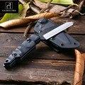 Новый Полный Tang Открытый тактический нож для выживания  походные инструменты  коллекция охотничьих ножей с импортной K оболочкой  бесплатна...