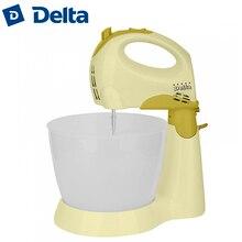 DL-5048С Миксер с чашей оливковый, 250 Вт, Объем чаши-3л, 5 скоростных режимов, Кнопка извлечения насадок
