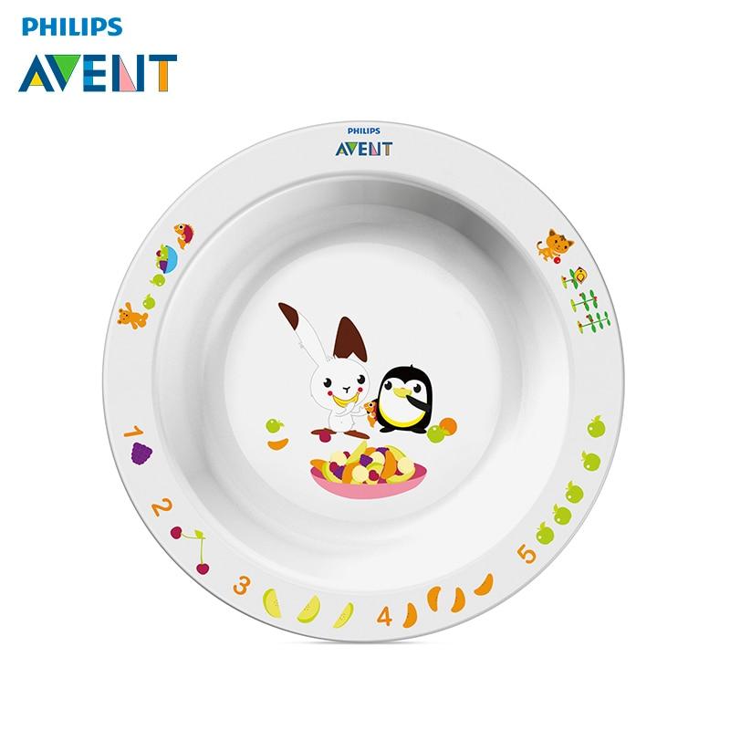 Купить со скидкой Детская тарелка большая 12 мес+ Philips Avent SCF704/00