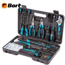 Набор ручного инструмента BORT BTK-160 (160 предметов из CRV стали, кейс в комплекте)