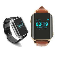 Mini GPS Kids Elderly Smart Watch A16 GPS WIFI SOS LBS Locate Heart rates mergency SOS call for child old smartwatch