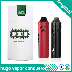Image 1 - Original Hugo Vapor Conqueror Dry Herb Vaporizer 2200mAh Battery Electronic Cigarette Kit Vape Pen Temperature Control vaporizer
