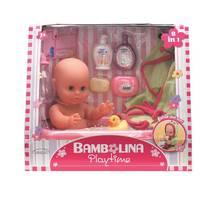 Кукла DIMIAN 33 см Bambolina с ванной и аксессуарами 1405-M7