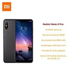 [Wersja globalna dla hiszpanii] Xiaomi Redmi Note 6 Pro (pamięci wewnętrzne de 32 GB, pamięci RAM de 3 GB, bateria 4000, Cuatro camaras con IA) 2