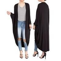 Batwing Sleeve Loose Overalls Women Cardigan Linen Maxi Coat Vestidos Bandage Cardigan Green Elegant Coats Long