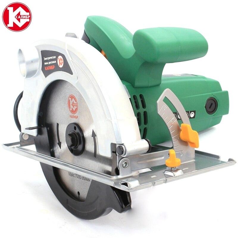 Electric circular saw Kalibr EPD-1700/185 kalibr epd 1700 185 electric circular saw for wood with a blade tool circle saw