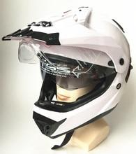 Casco libero di trasporto 2017 Nuovo ABS Motocross Casco Integrale Viso DOT S/M/L/XL Cascos Moto capacetes Fit Uomo E Le Donne per il mostro M