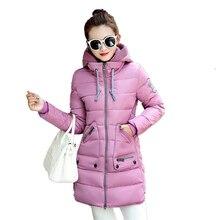 Новый Зимний Женщины Пальто Толстые Парки Женский Тонкий Одежда Хлопок Верхняя Одежда Дамы