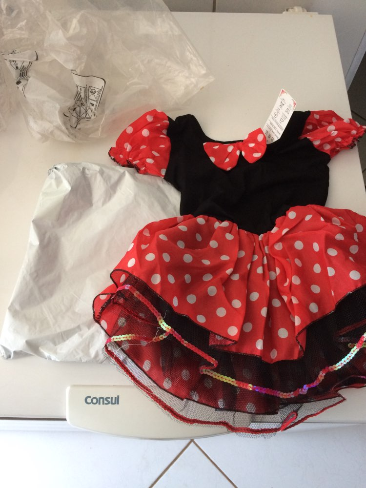 Платья для девочек Минни Мышь вечерние праздничный костюм Косплэй девочек балетное платье-пачка + ободок в горошек для девочек детская одежда