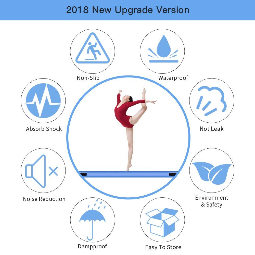 1 3m Gymnastiek Air Track Olympics Gym yoga slijtvaste Gym Matras water yoga matras voor Thuis /strand/Water yoga-in Opblaasbare Bouncers van Speelgoed & Hobbies op  Groep 3