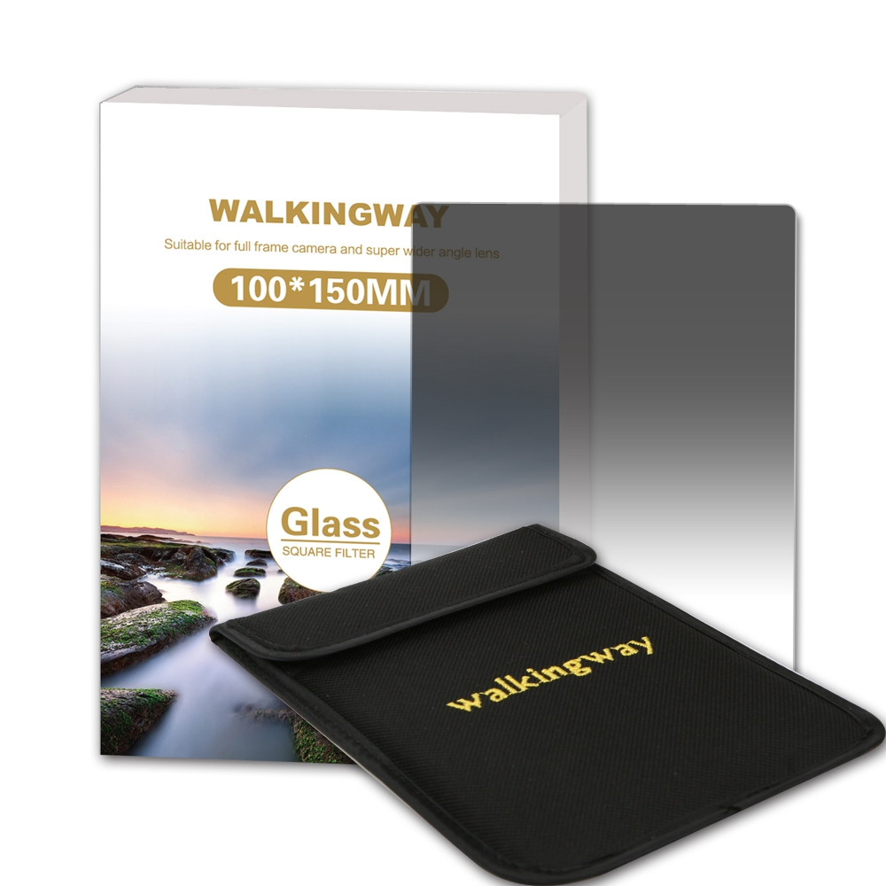 Walking Way 150*100mm Optical Glass Soft Graduated ND filter G. ND4 ND8 ND16 Camera Square filter for Zomei Hoya Nisi Cokin стоимость