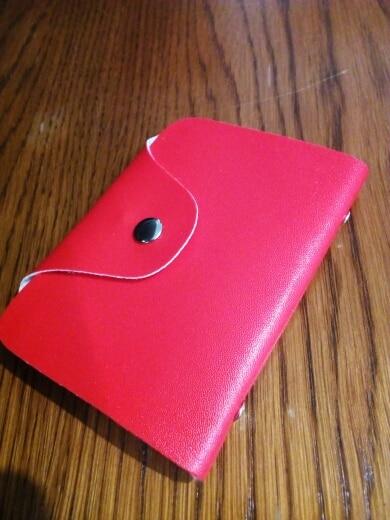 Mode PU Functie 24 Bits Kaarthouder Visitekaarthouder Mannen Vrouwen Paspoort Kaart Tas ID Paspoort Kaart Portemonnee Kaart pakket # photo review