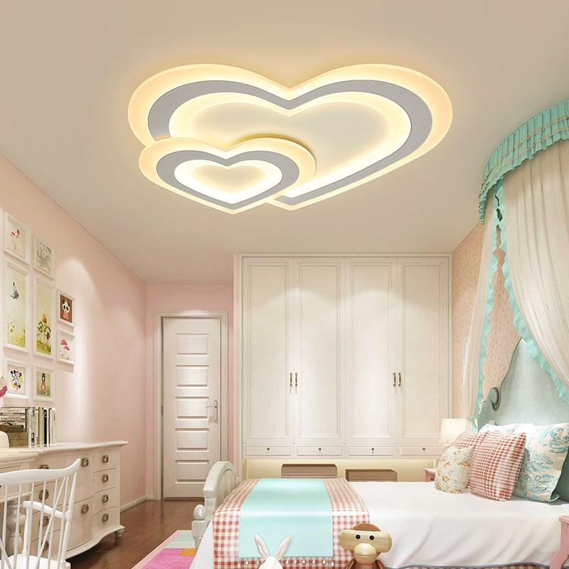 Chandelierrec Online Moderne LED Decke Kronleuchter Für Kinder Baby  Schlafzimmer Dekoration Kronleuchter Hause Leuchten AC85 265V