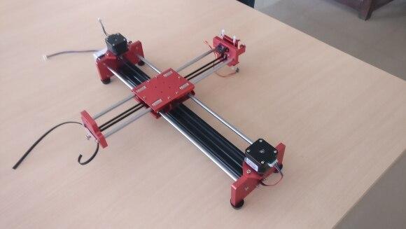 drawbot машина чертежа; drawbot машина чертежа; плоттер робот ; ЧПУ плоттер;