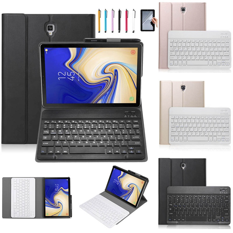 Removable Bluetooth Keyboard Leather Case For Samsung Galaxy Tab A A2 10.5 2018 T590 T595 SM-T590 T597 Case With Pen holderRemovable Bluetooth Keyboard Leather Case For Samsung Galaxy Tab A A2 10.5 2018 T590 T595 SM-T590 T597 Case With Pen holder