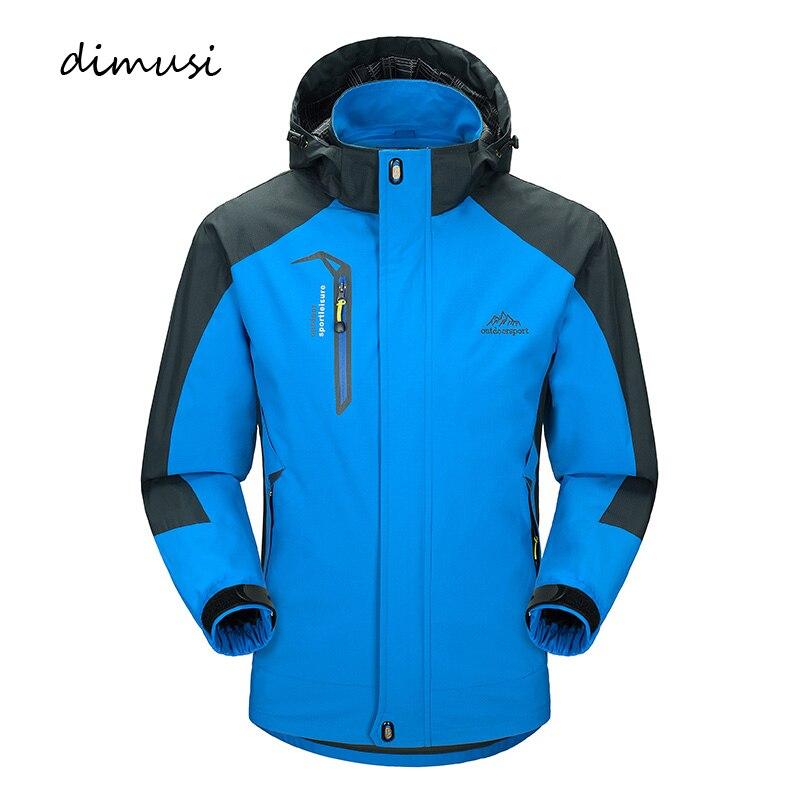 DIMUSI chaqueta Casual para hombre primavera otoño ejército impermeable chaquetas rompevientos hombre transpirable protección UV sobretodo 5XL, TA541