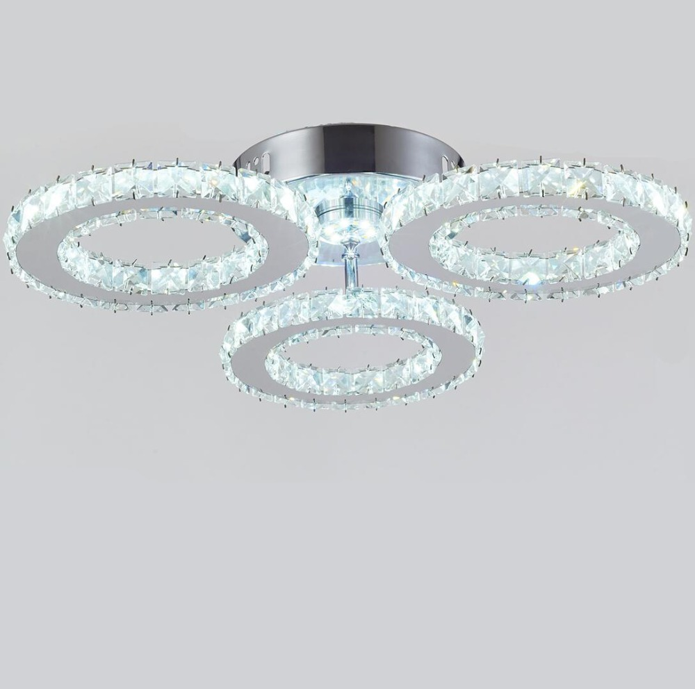 Modern lustres 3 rings Crystal LED Crystal Ceiling Lights Crystal Lamp / Lighting Fixture led Ceiling lamp lighting ceilingModern lustres 3 rings Crystal LED Crystal Ceiling Lights Crystal Lamp / Lighting Fixture led Ceiling lamp lighting ceiling