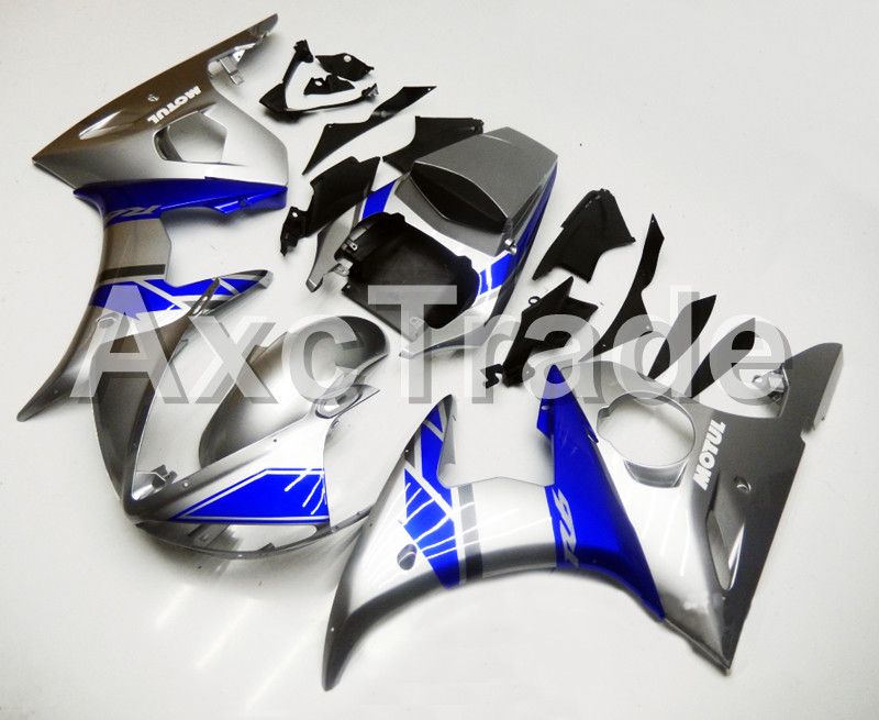 Motorcycle Fairings For Yamaha YZF600 YZF 600 R6 YZF-R6 2003 2004 2005 03 04 05 ABS Injection Molding Fairing Bodywork Kit B402 hot sales yzf600 r6 08 14 set for yamaha r6 fairing kit 2008 2014 red and white bodywork fairings injection molding