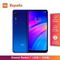 [Глобальный Версия для Испании] Xiaomi Redmi 7 (Memoria меж de 32 ГБ, оперативная память de 3 ГБ, Bateria de 4000 mah) смартфон