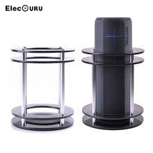 Speaker Stand Holder For Amazon UE Boom/Echo/Echo Plus Bluetooth Speaker Transparent Protective Bracket Shockproof Bookshelf