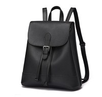 Hot2017 Fashion Women Backpack High Quality Soft PU Leather Backpacks For Teenage Girls Female School Shoulder