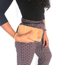 Cork bags cork wallet for women handmade Brown color cork original lady