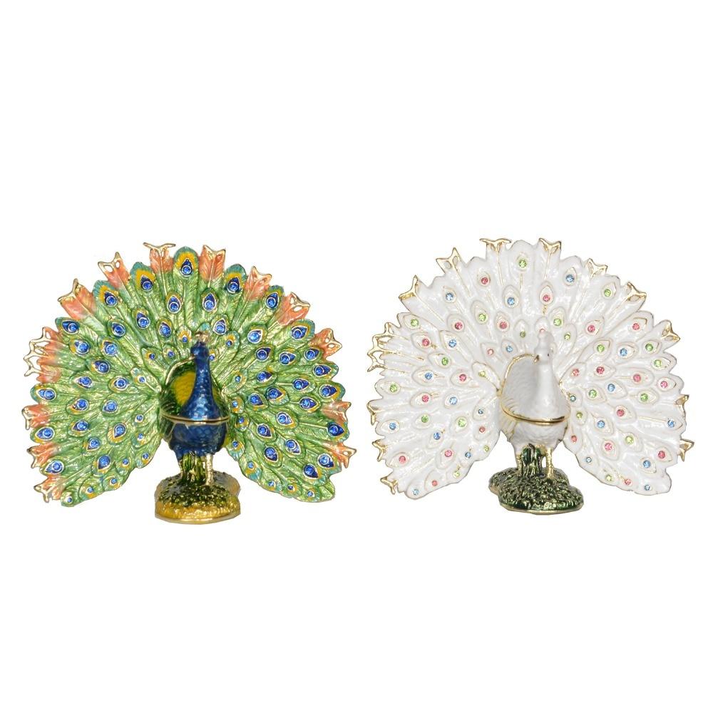 Mermaid On Shell#1 Bejeweled Jewel Trinket Box