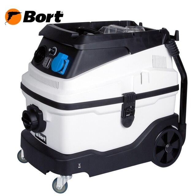 Пылесос для сухой и влажной уборки Bort BSS-1630-Premium (Мощность 1600 Вт, вместимость пылесборника 30 л, Фильтр мешок+AQUA+HEPA, длина шланга 2 м, функция выдува и сбора жидкости, автоотключение, подключение электро