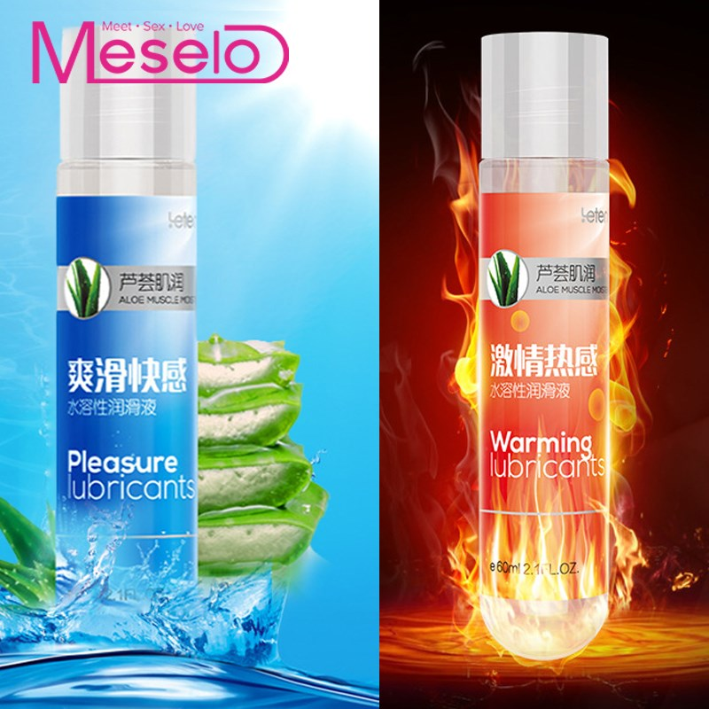 Meselo Aloe Sex Lubricant Silk Touch, Vaginal Anal Lubricant Water-based Massage Sex Oil Masturbation Lube 60ML Lubrication Toys love kiss 100ml strawberry cream anal sex lubricant oral lube vaginal lubrication massage oil sex products