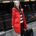 Модное пальто куртка женская с капюшоном теплая парка пальто Высокое качество Женская новая зимняя коллекция Горячая