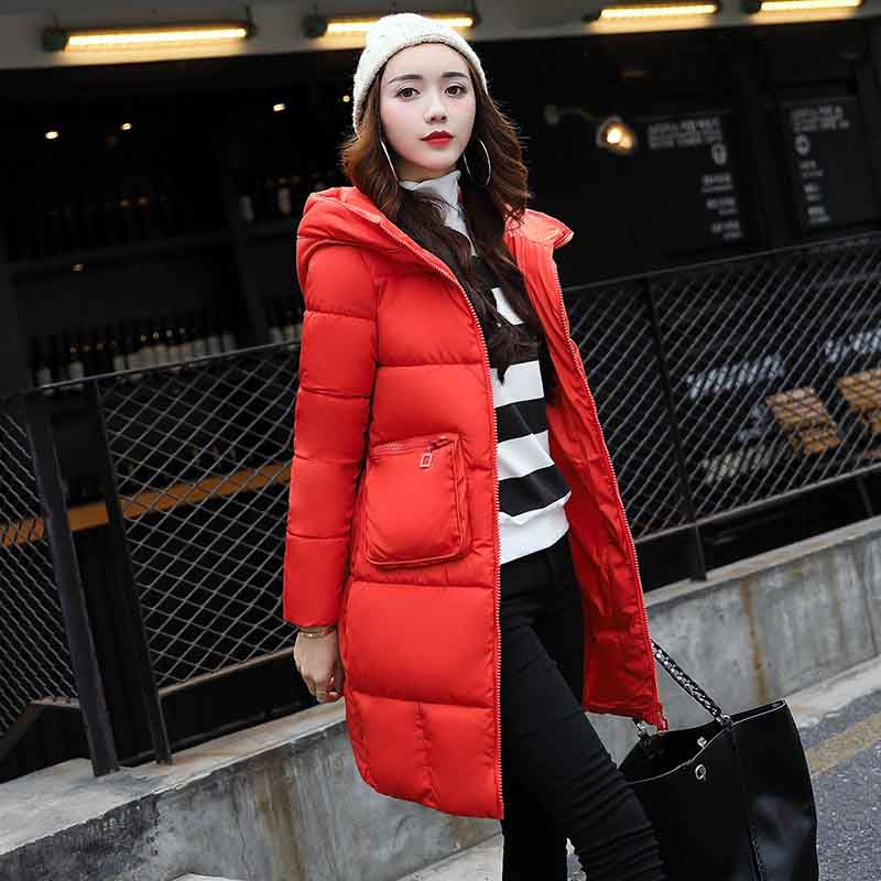 Fashionable Coat Jacket Women's Hooded Warm   Parka   Coat Hight Quality Female New Winter Collection Hot
