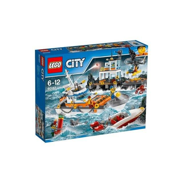 Конструктор LEGO CITY Штаб береговой охраны 60167-L