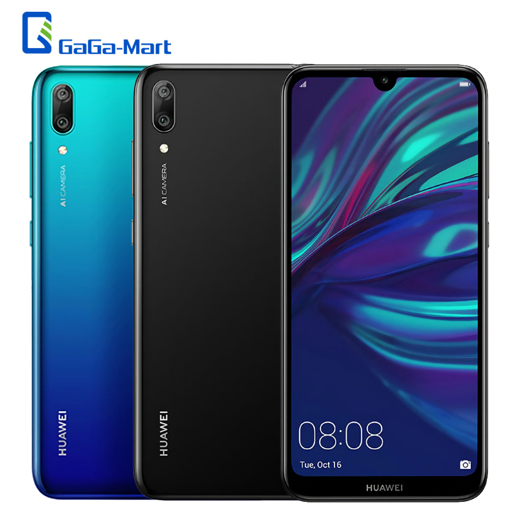 Global Version 2019 HUAWEI Y7 Pro Face ID 6 26inch HD 3GB RAM 32GB ROM Octa