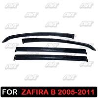 Venster deflectors voor Opel Zafira B 2005-2011 1 set-4 stuks auto styling wind decoratie guard vent vizier rain guards cover