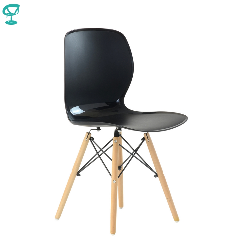 N120Black Barneo N-120 Plastic Wood Kitchen Breakfast Interior Stool Bar Chair Kitchen Furniture Black Free Shipping In Russia