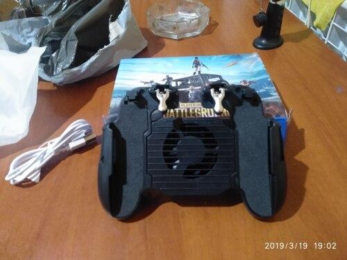 Phone Cooler Fan Gamepad photo review