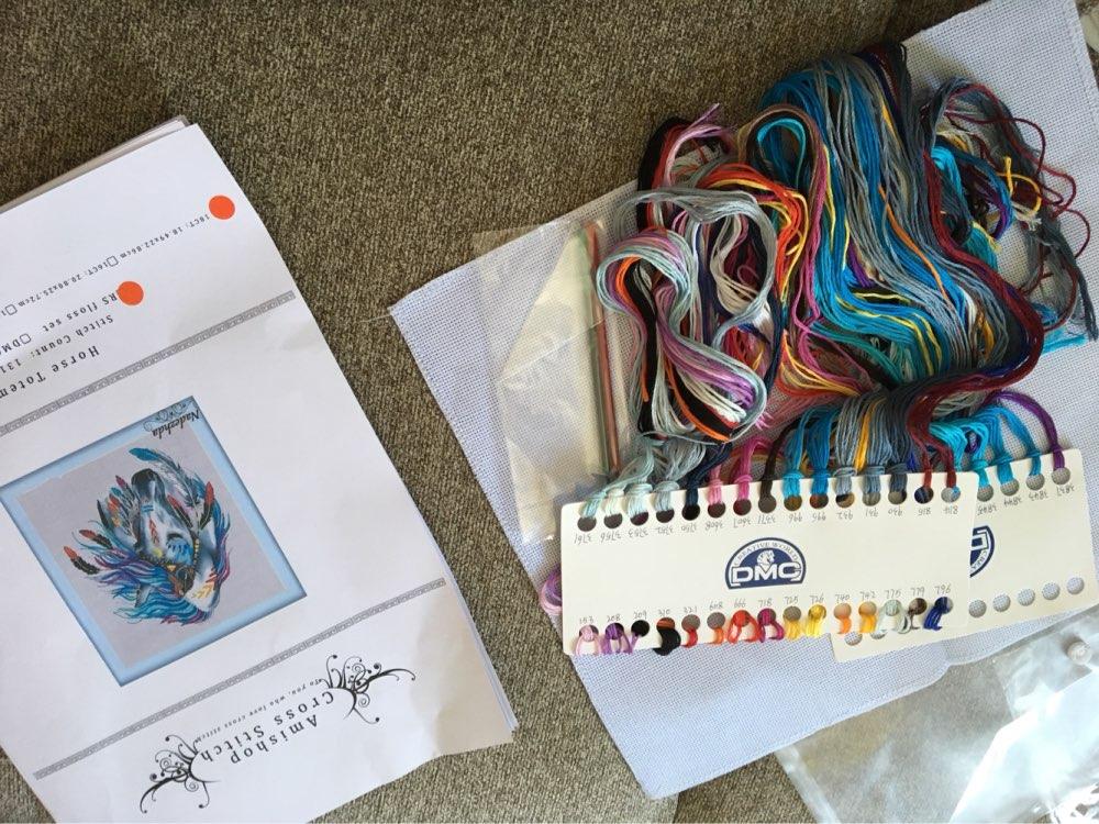 1set colorful butterflies print//unprinted canvas cross stitch 14ct needlework J/&