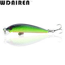 1Pcs 5.5cm 3.6g Minnow Fishing lures crank bait artificial bait hard lure fish pesca wobbler swim bait fishing tackle NE-274